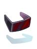 Óculos Retrofuturistas