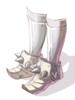 Sapatos do Novato